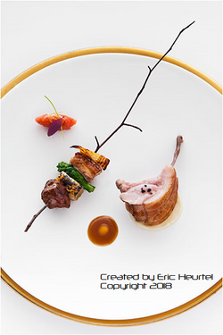 unchefdansmacuisine.salt.ericheurtel cote de porc iberique a basse temp. brochette creole sur une br