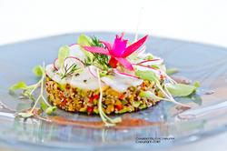 unchefdansmacuisine.salt.ericheurtel salade de quinoa et saint jacques