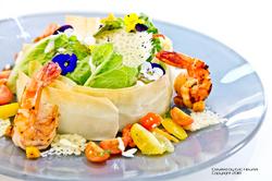 unchefdansmacuisine.salt.ericheurtel cesar salade et tuile parmesan