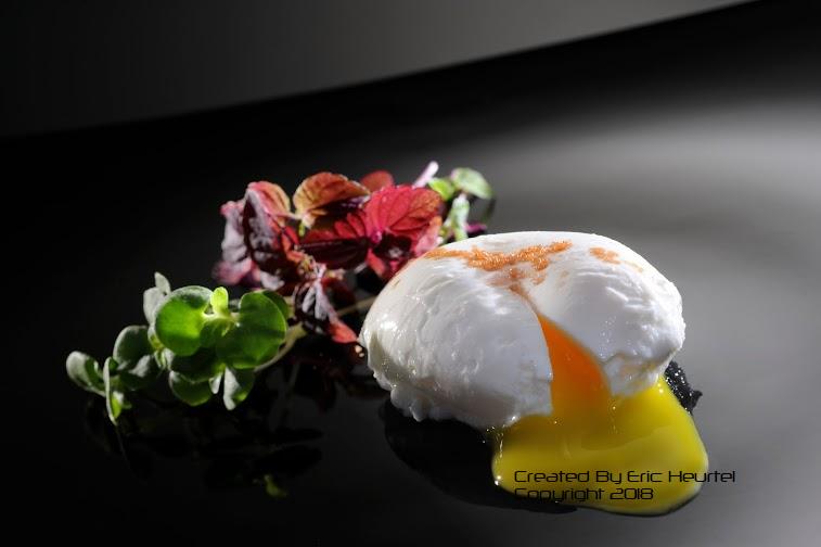 unchefdansmacuisine.salt.ericheurtel oeuf poche sur tapenade d'olives et sel rouge hawai