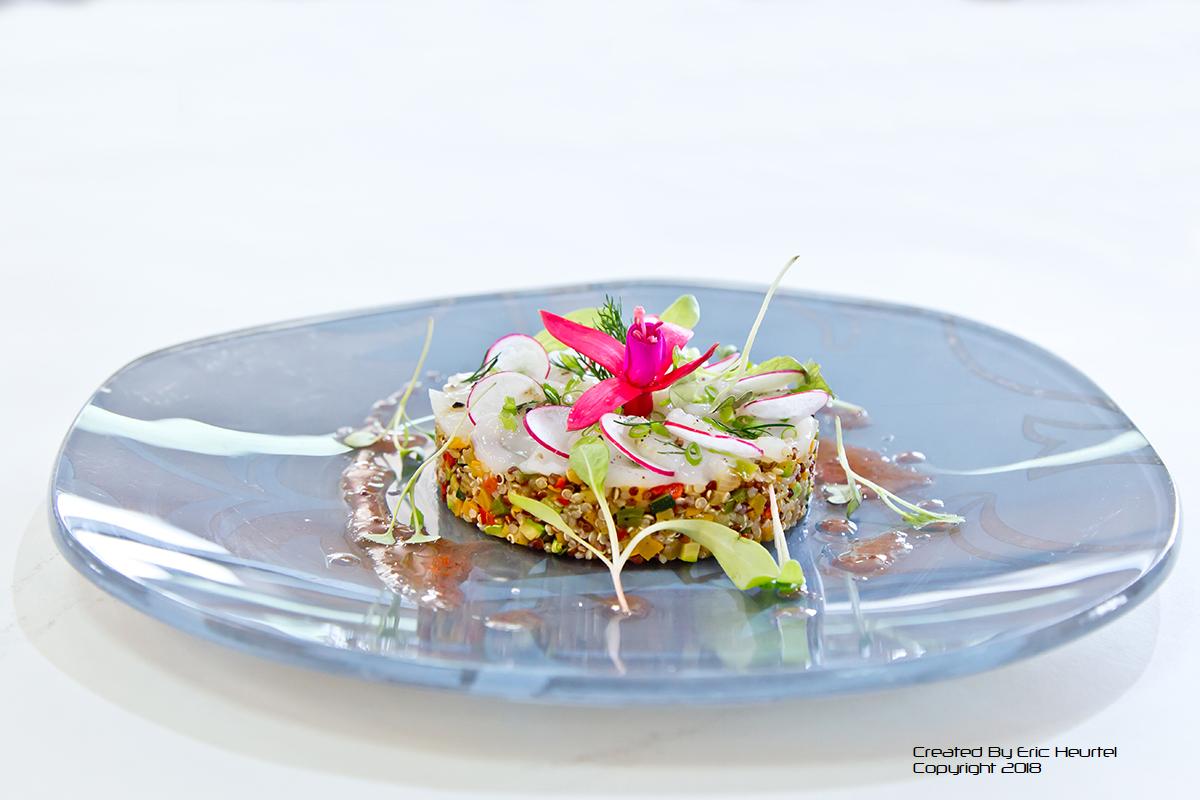unchefdansmacuisine.salt.ericheurtel salade de quinoa et saint jacques (2)