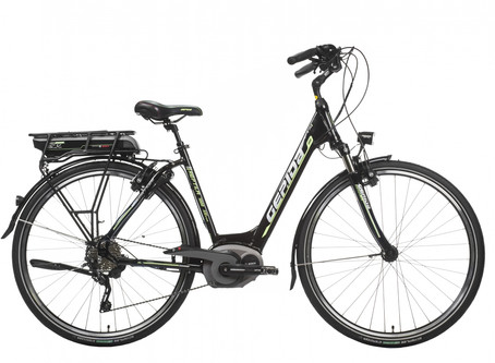Reptila 1000 SLX 10 city bicycle with Bosch electric power assistance