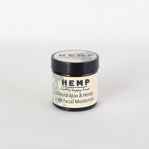 Natural Aloe & Hemp Light Facial Moisturiser