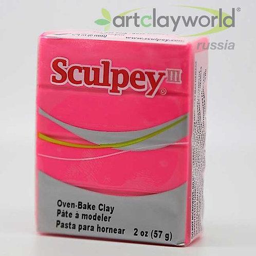 Sculpey III ярко-розовый
