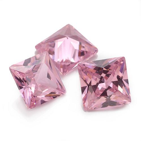 Фианит розовый. Принцесса.