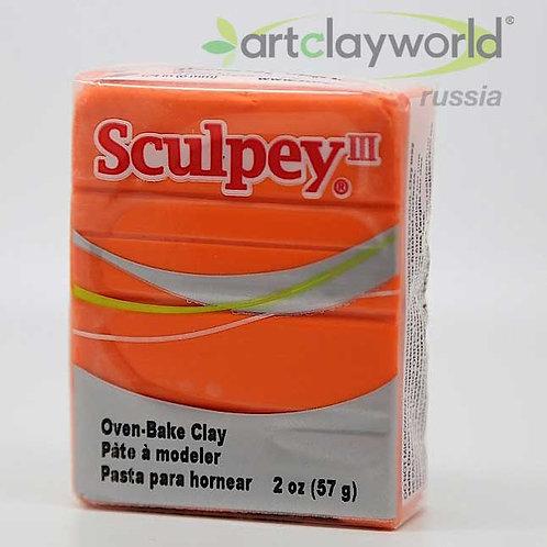 Sculpey III оранжевый
