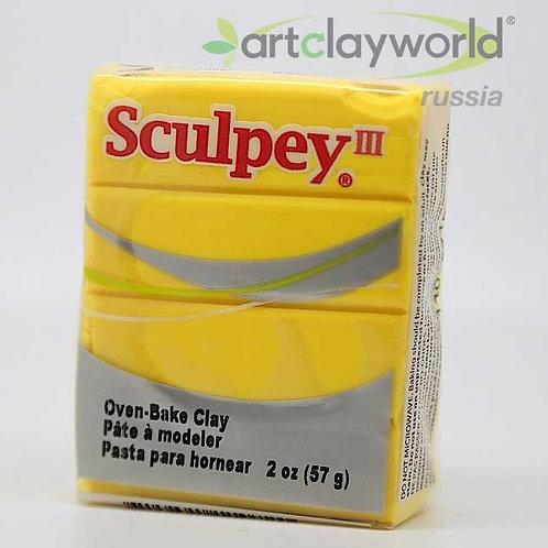 Sculpey III желтый