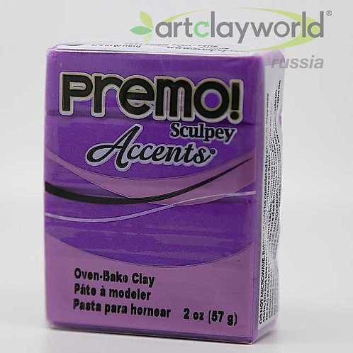 Sculpey Premo! Accent жемчужно-фиолетовый