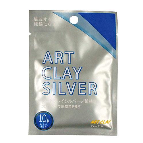 металлическая глина art clay silver clay type 10g
