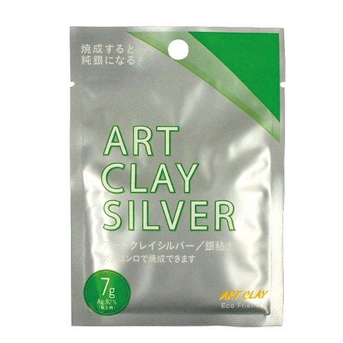 пластичное серебро art clay silver clay type 7g