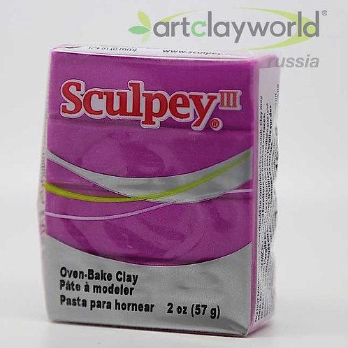 Sculpey III лилово-жемчужный