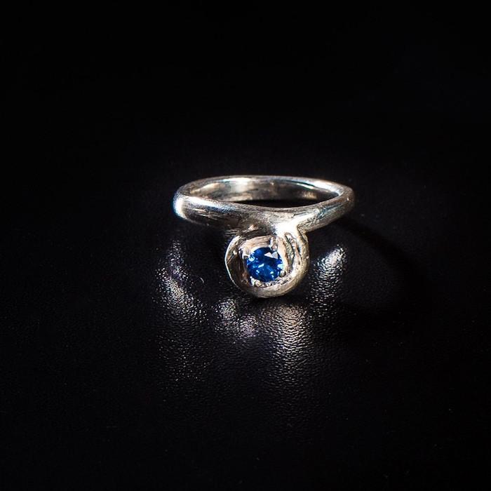 art clay silver кольцо из чистого серебра