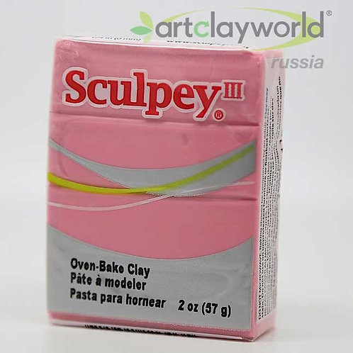 Sculpey III бледно-розовый