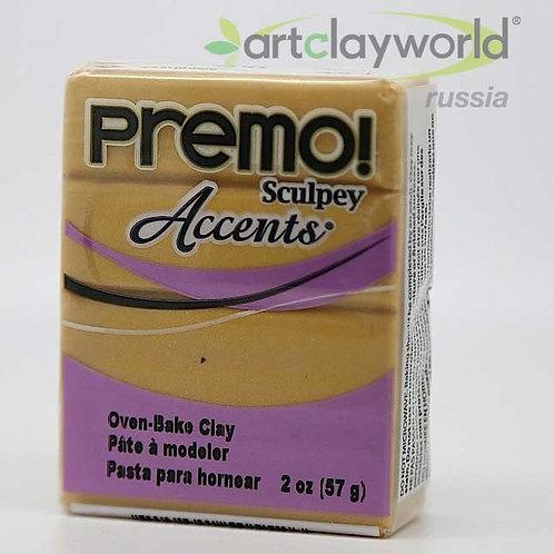 Sculpey Premo! Accent под 18-каратное золото