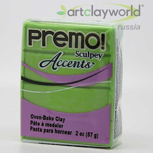 Sculpey Premo! Accent жемчужно-зеленый