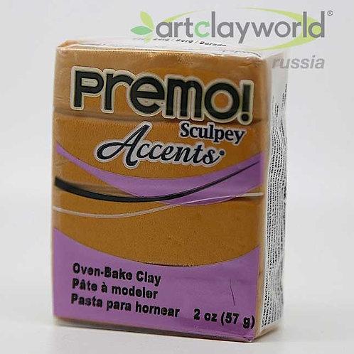 Sculpey Premo! Accent под золото