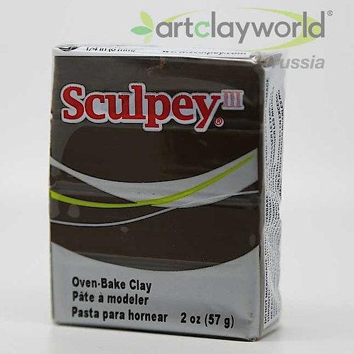 Sculpey III коричневый