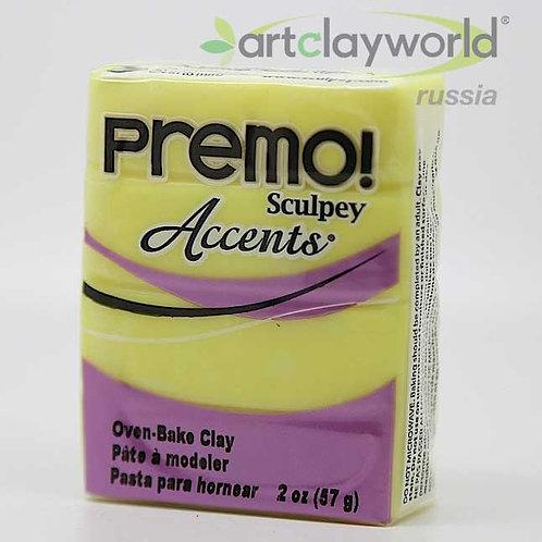Sculpey Premo! Accent матово-желтый
