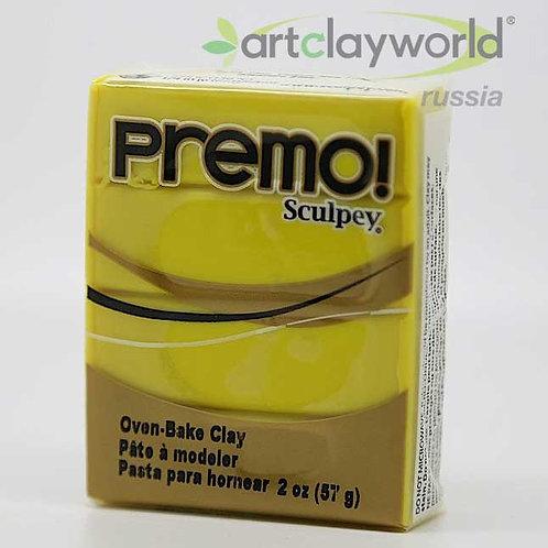 Sculpey Premo! желтый цинк