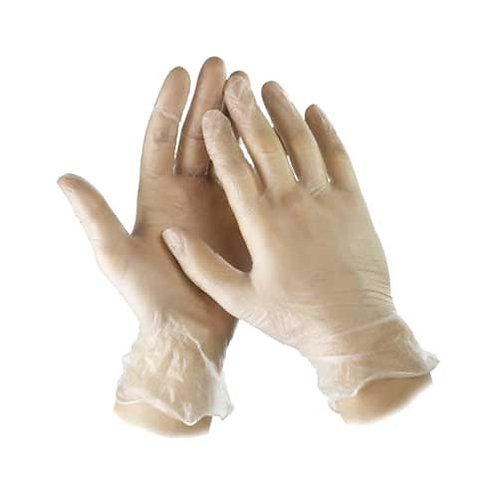 Перчатки виниловые. М. 10шт.