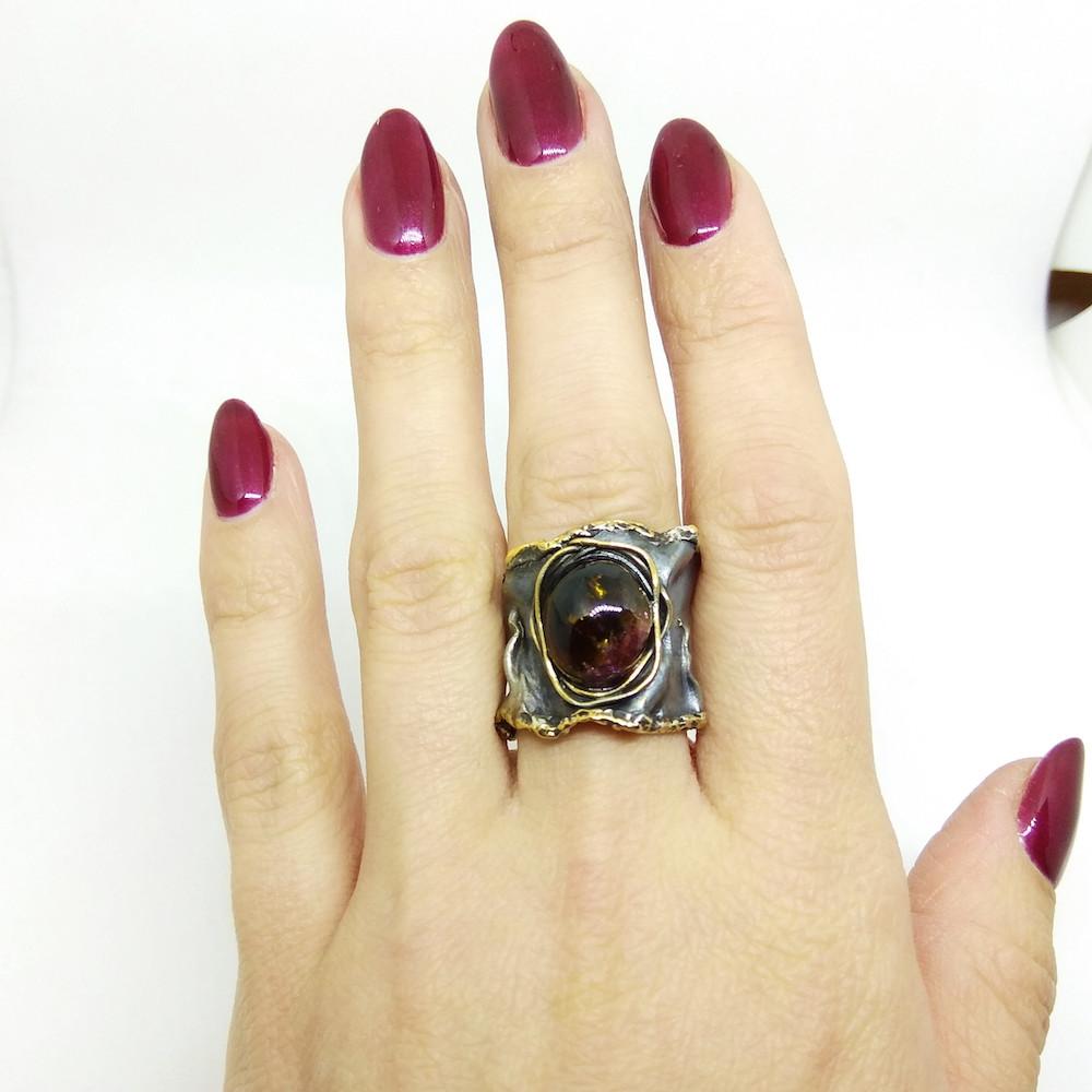 кольцо серебро art clay silver 999 пробы