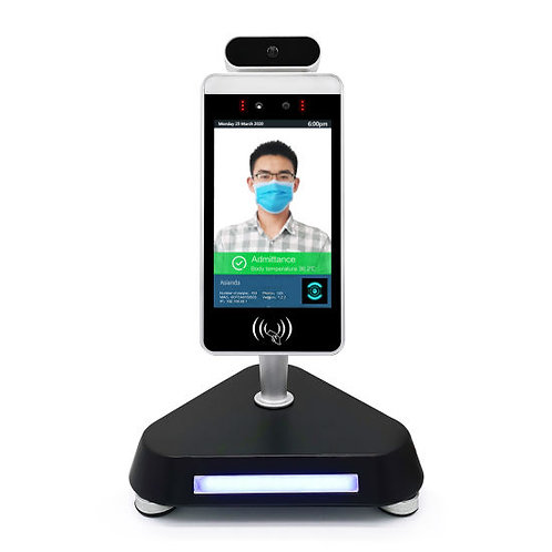 Facial Recognition Thermopass+ with base
