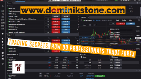 Forex Trading Secrets: How Do Professionals Trade Forex - Part 2