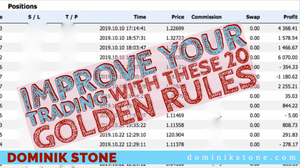 Improve Your Trading With These 20 Golden Rules