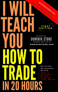 I will teach you how to trade in 20 days - Dominik Stone book