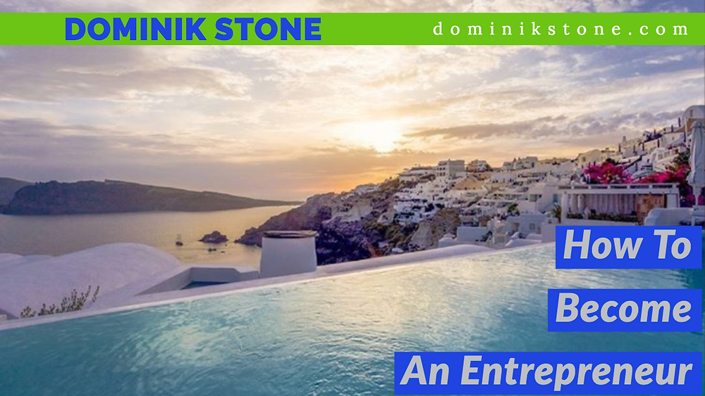 Swimming pool - Dominik Stone - How To Become An Entrepreneur