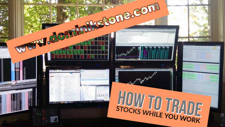 How to Swing Trade While You Work - Rules and System