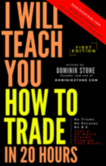 I will teach you how to trade in 20 hours - book by Dominik Stone
