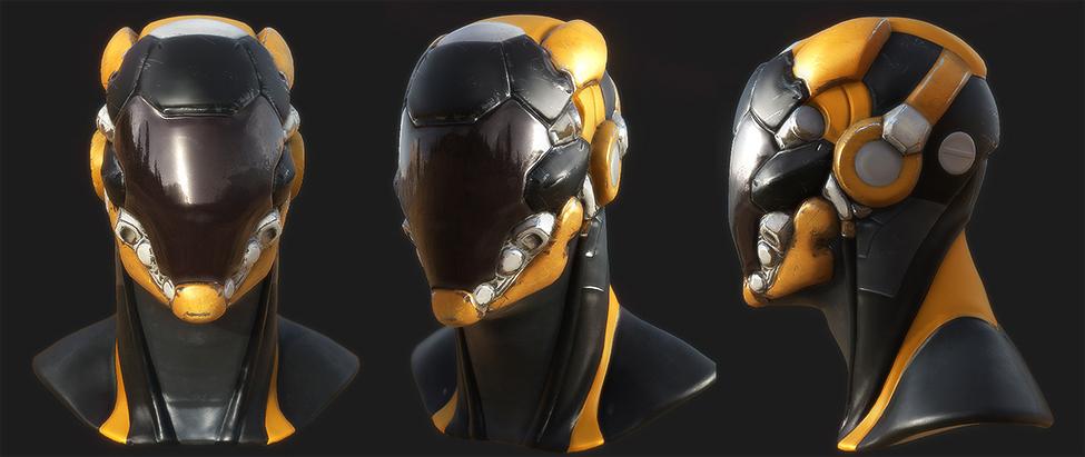 SF Helmet(클릭 시 큰 그림이 나옵니다.)