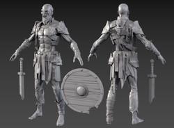 Undead Knight(클릭 시 큰 그림이 나옵니다.)