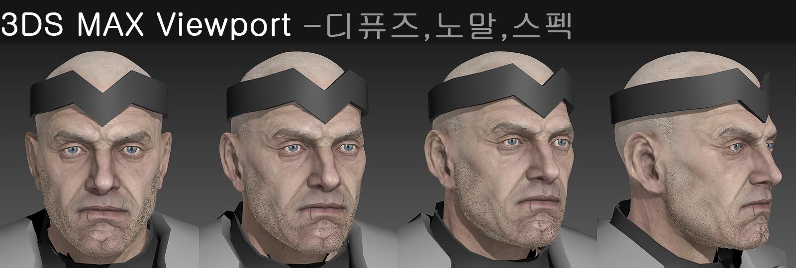 Head Modeling3(클릭 시 큰 그림이 나옵니다.)