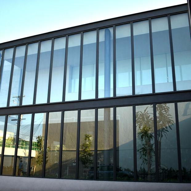 ventanas de aluminio con cristal doble