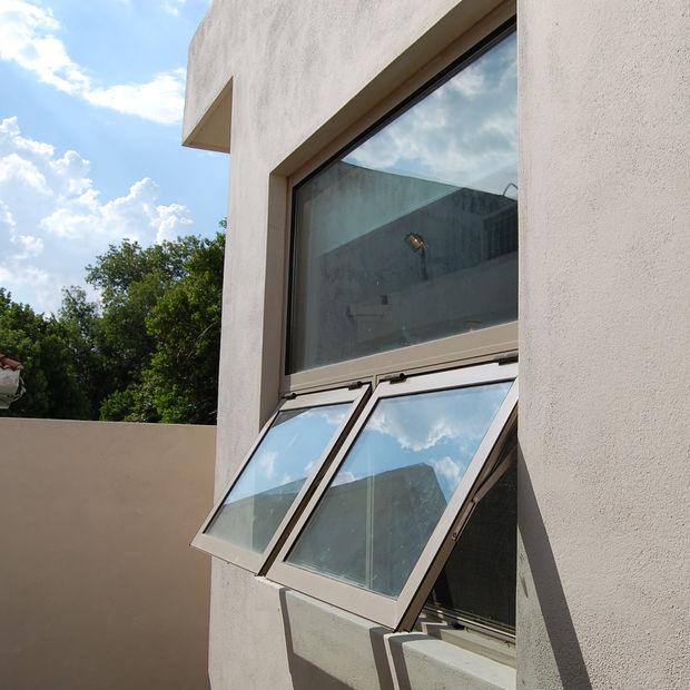 ventanas de aluminio proyectables eurovent classic serie 35