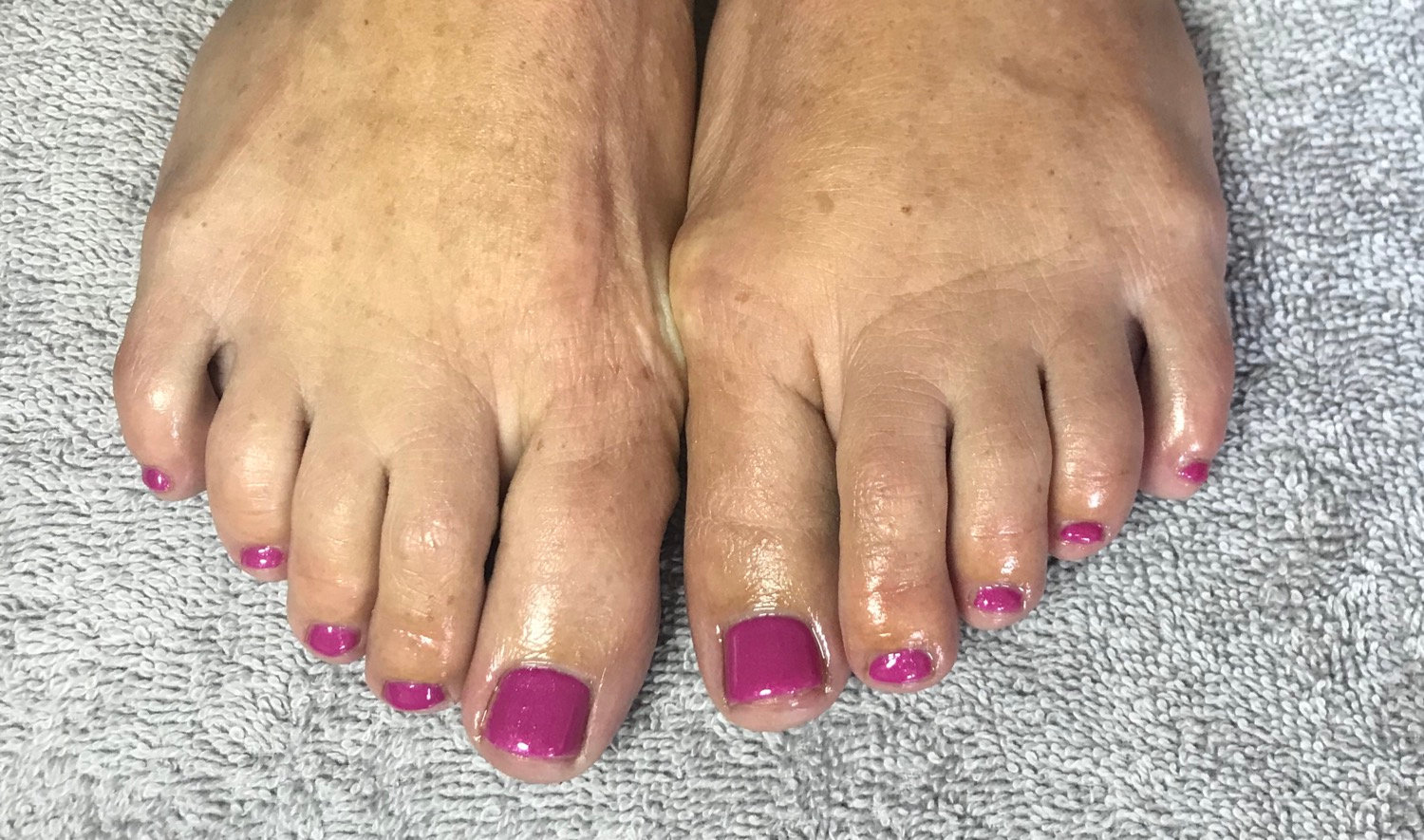 Full Pedicure with Calgel overlays