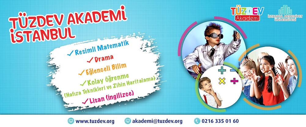 TÜZDEV Akademi eğitimleri, çocukları geleceğe hazırlayan atölyelerden oluşur.