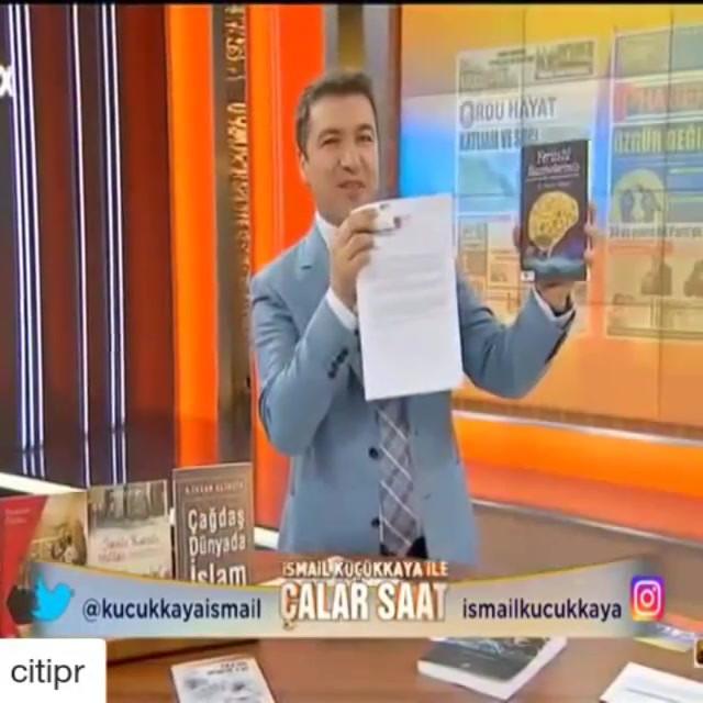 """TÜZDEV Genel Başkanı Opr. Dr. Kemal Tekden'in """"Yerüstü Hazinelerimiz"""" kitabı bugün """"İsmail Küçükkaya ile Çalar Saat"""" programında yer aldı."""