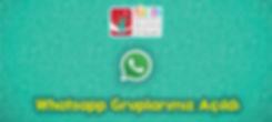 Whatsapp Gruplarımız Açıldı Slider.jpg
