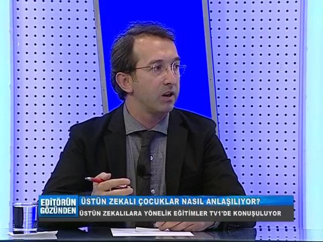 Üstün Zekâlı Çocuklar Nasıl Anlaşılıyor?  #TÜZDEV Kayseri Şube Başkanı Fatih DUMAN, bu soruyu TV1 televizyonu Editörün Gözünden Programında yanıtlıyor.