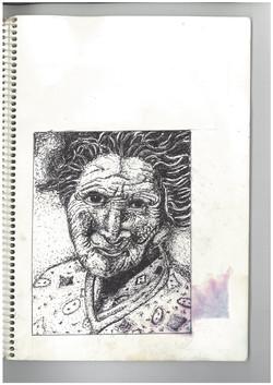 j.old woman