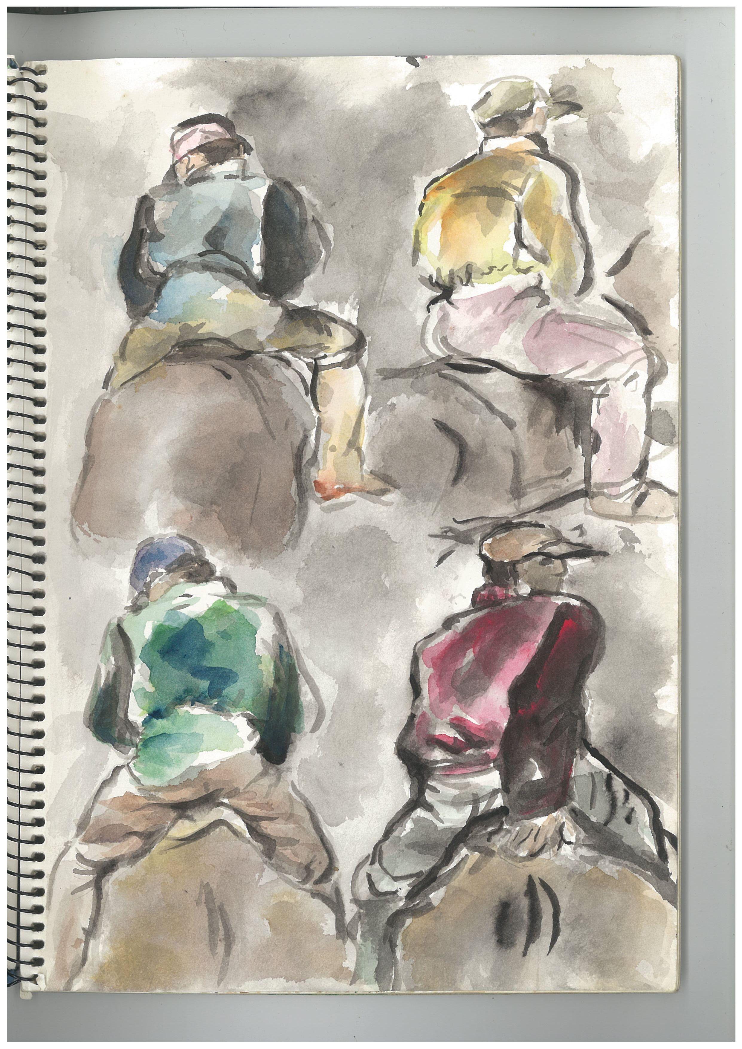 z(2).men on horses