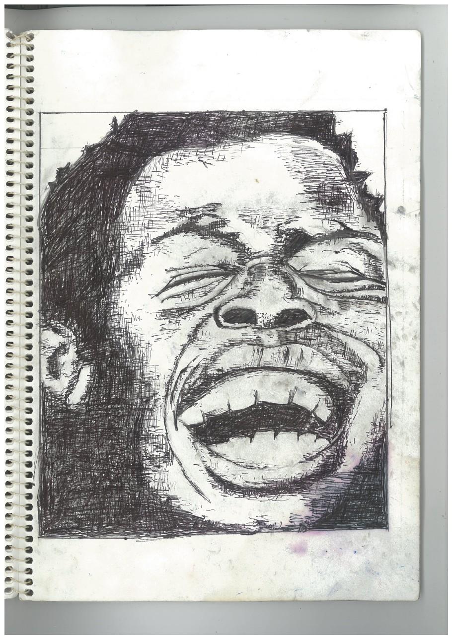 o. laughing man