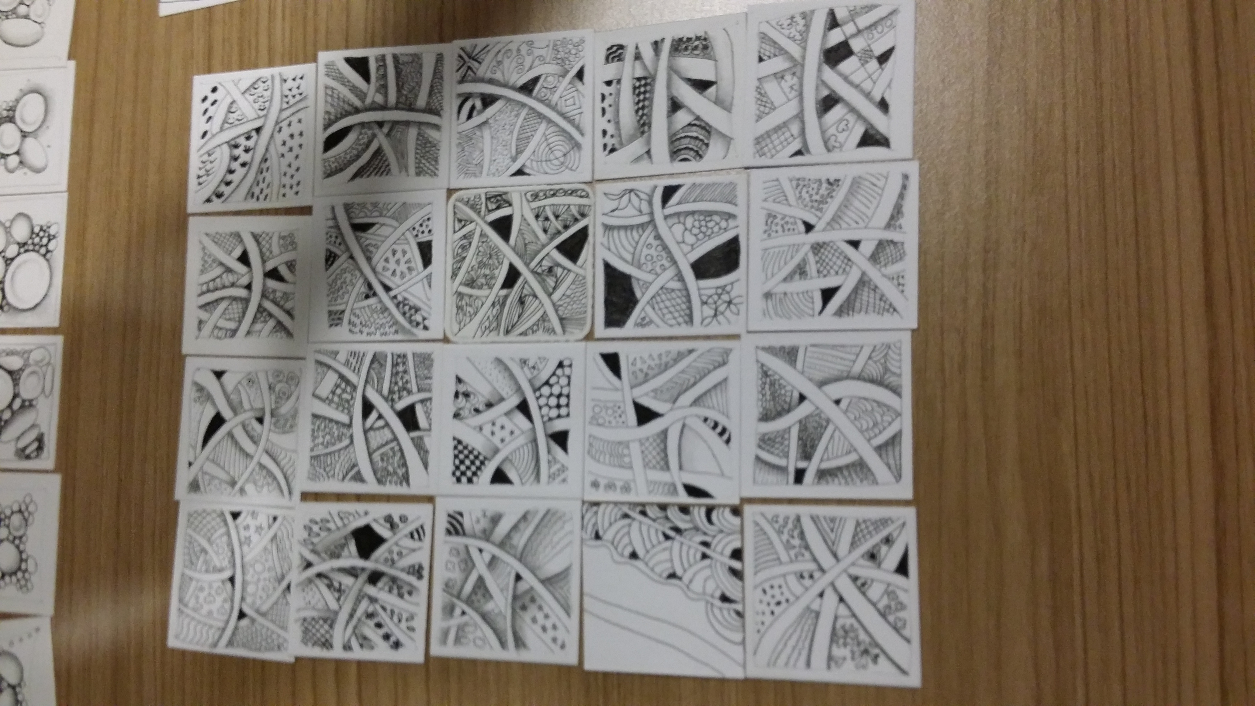 p.compile of student works