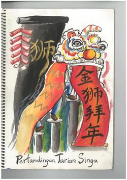 h.lion dance contest