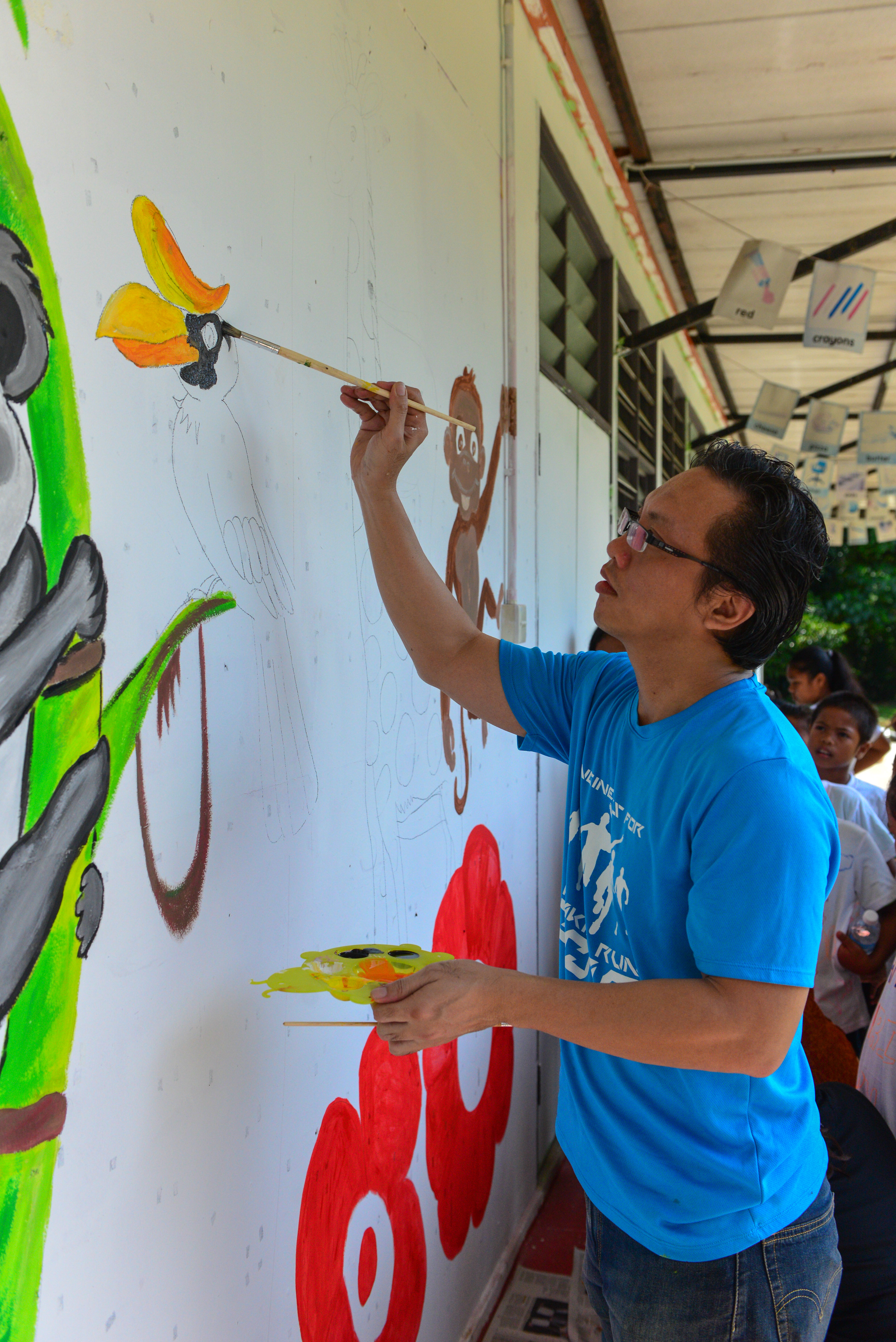 x.mural painting