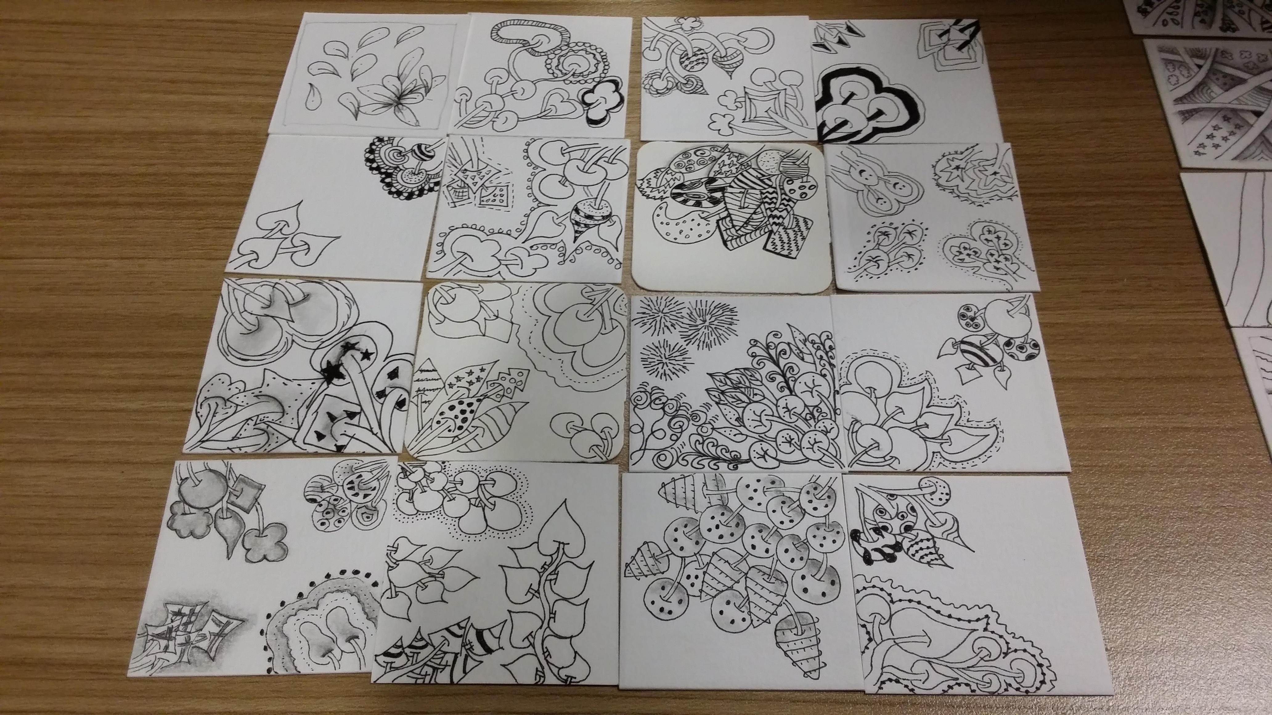 n.compile of student works