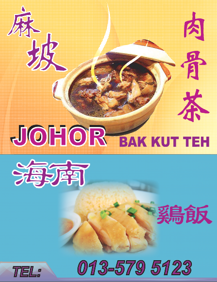 bak kut teh & chicken rice
